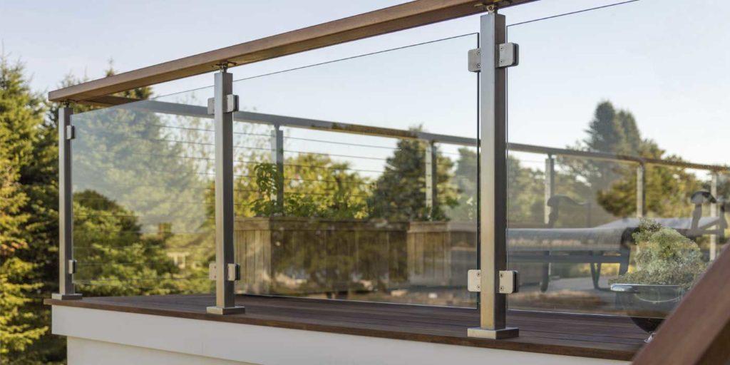 glass raillings