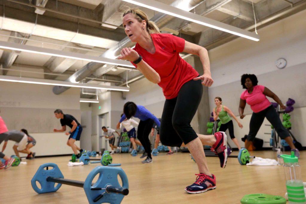 High interval cardio workout